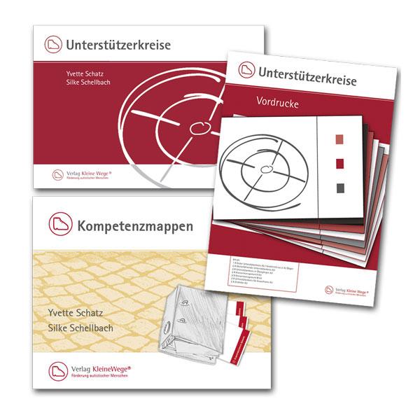KleineWege® | Set: Kompetenzmappen, Unterstützerkreise & Vordrucke