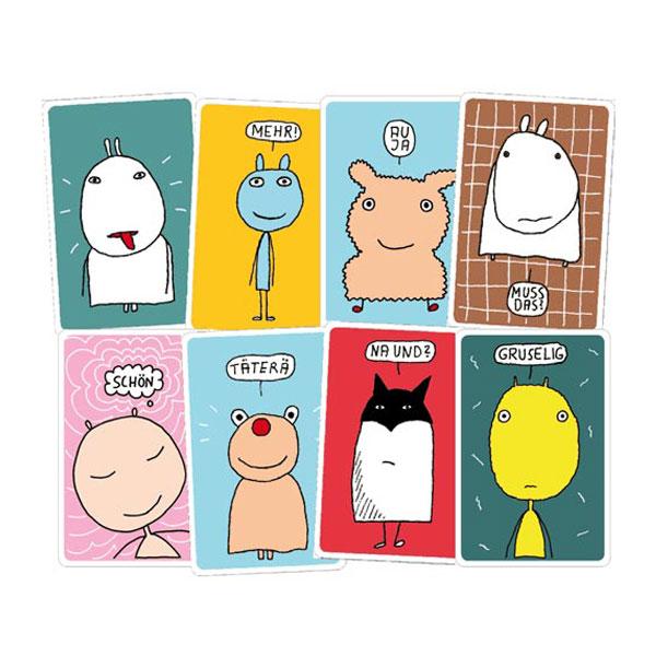 Gemischte Gefühle: Die bunte Welt der Gefühle in 46 Karten