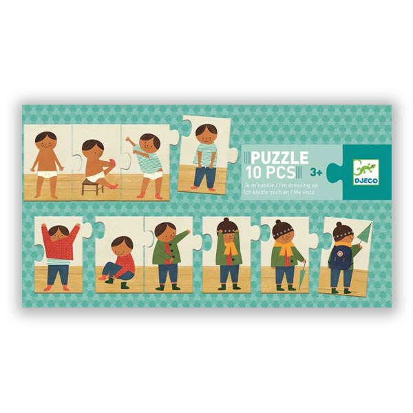 Puzzle | Ich kleide mich an