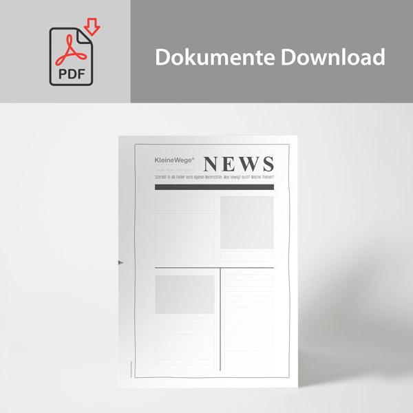 Arbeitsblatt Download | Zeitung