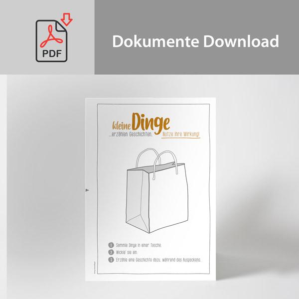 Arbeitsblatt Download | Kleine Dinge erzählen Geschichten